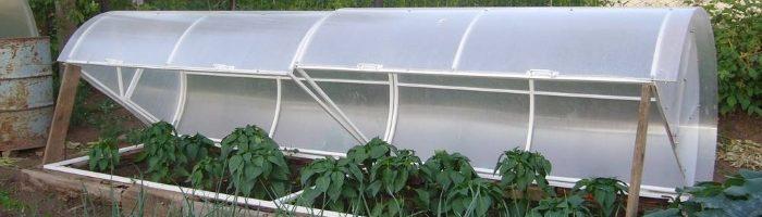 Изготовление простейшего парника для раннего овощеводства