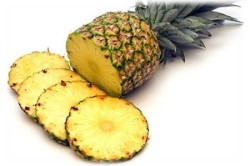 Мякоть спелого ананаса