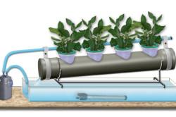 Схема гидропонной системы