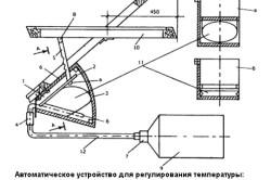 Схема автоматического терморегулятора