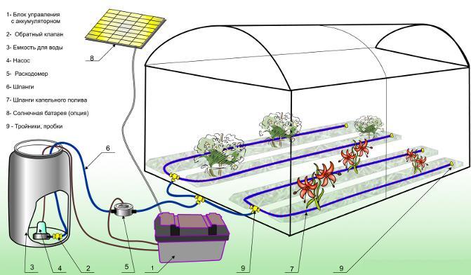Автоматический полив на огороде своими руками как сделать