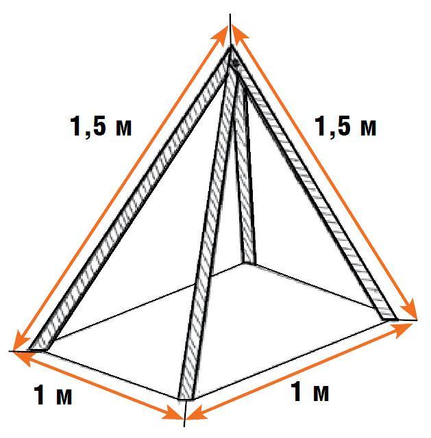 Пирамида своими руками смотреть