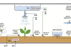 Схема обустройства почвенной теплицы