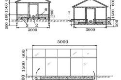Схема теплицы для выращивания арбузов и дынь
