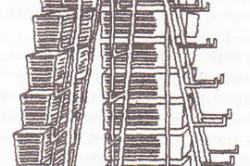 Схема изготовления высокой многоярусной грядки из ящиков.